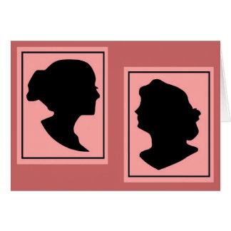Silhouettes 4 card