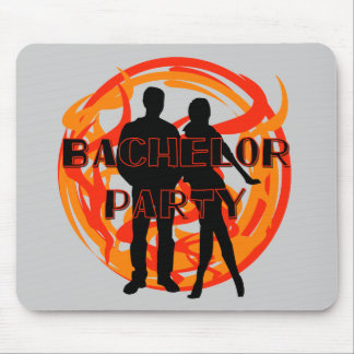 Silhouettes Bachelor Party Tshirts and Gifts Mouse Pad