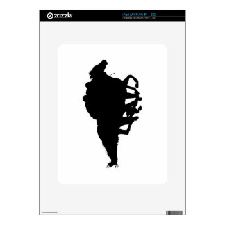 Silhouettes - Horse Racing - T-Breds Decals For The iPad