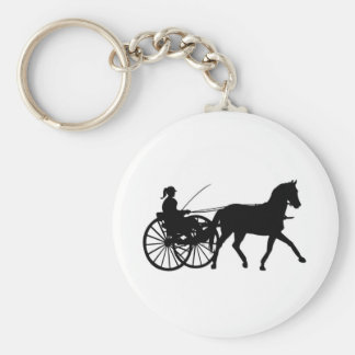 Silhouettes - Horses - Keychain