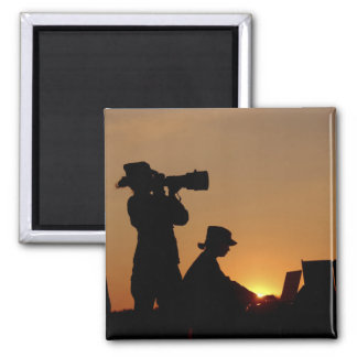 Silhouettes Magnets