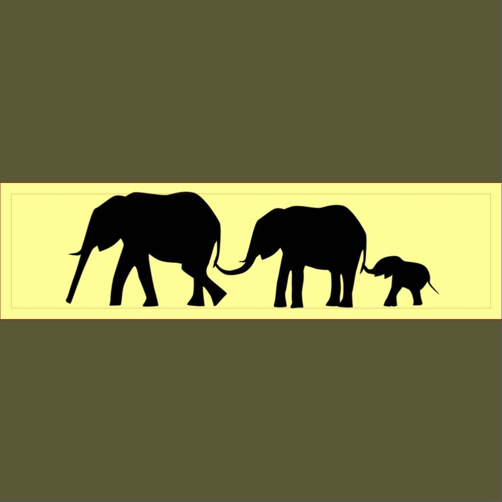 Elephant tail clipart