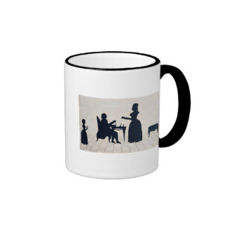 Silhouettes of Monsieur and Madame Roland Ringer Mug