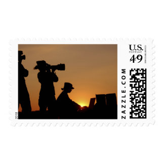 Silhouettes Postage