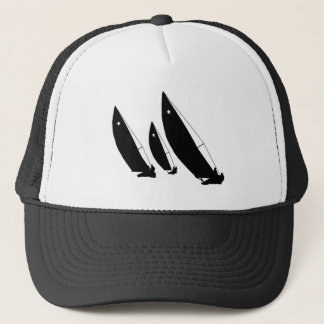 Silhouettes - Sailboats - Trucker Hat