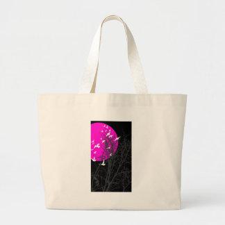 silhouscreen birds canvas bag