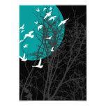 silhouscreen birds personalized announcements