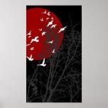 silhouscreen los pájaros impresiones