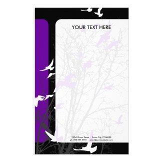 silhouscreen los pájaros papeleria de diseño