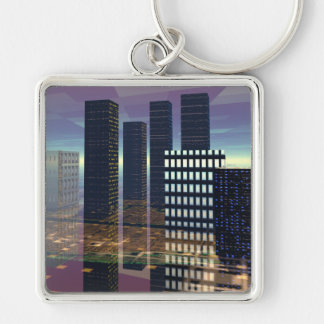 Silicon City Keychain