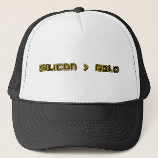 Silicon > Gold Trucker Hat