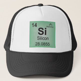 Silicon Individual Element of the Periodic Table Trucker Hat