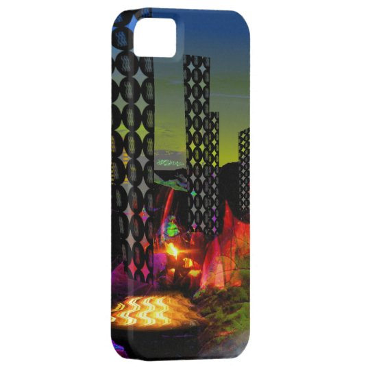 Silicon valley abstract iPhone 5 case Valxart