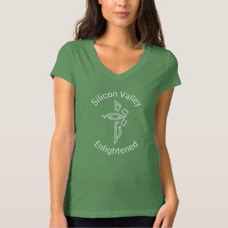 Silicon Valley Enlightened Bella V-neck T-shirt