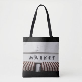 Silicon Valley Grocery Market Tote Bag