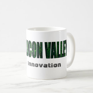 Silicon Valley, Innovation (typography) Coffee Mug