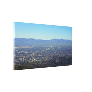Silicon Valley Large Wrapped Canvas Print