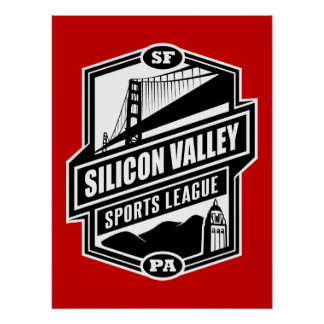 Silicon Valley Sports League Posters