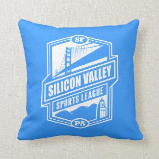 Silicon Valley Sports League Throw Pillow