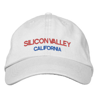 Silicone Valley*-Hut Silicon Valley has Embroidered Baseball Hat