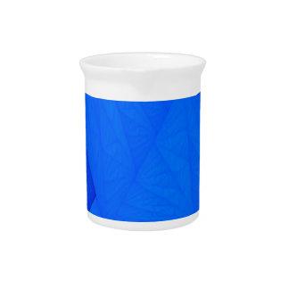 silk blue drink pitcher