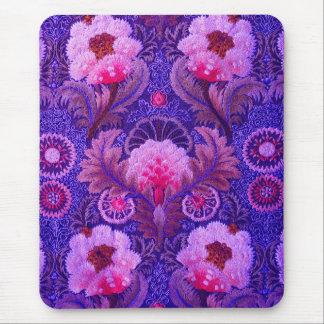 Silk Boho Purple Mouse Pad