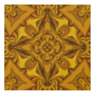Silk Brass Panel