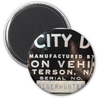 Silk City Diner Company Magnet