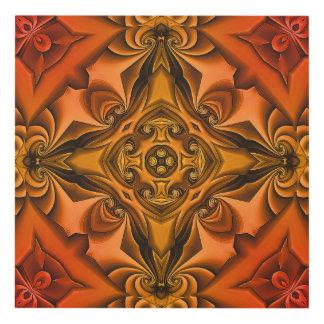 Silk Copper Sunset Panel