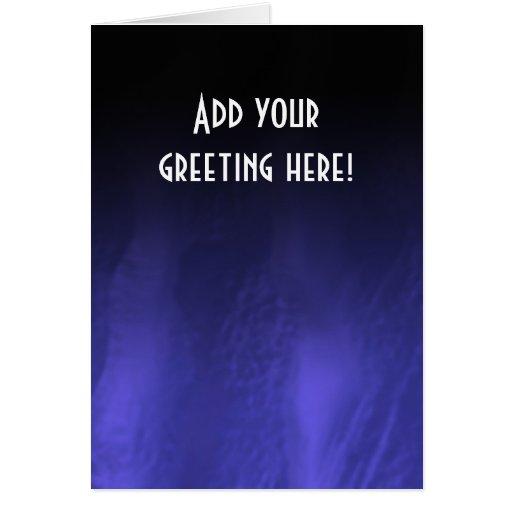 Silk dunes greeting card