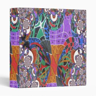 Silk Fabric Fractal 3 Digital Photo Binder