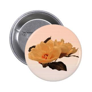 Silk Flowers 2 Inch Round Button