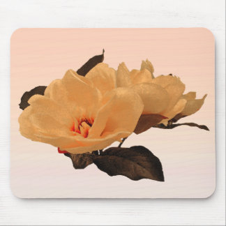 Silk Flowers Mouse Pad