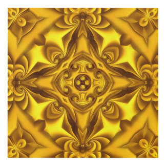 Silk Gold Fondue Panel