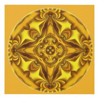 Silk Gold Glow Panel