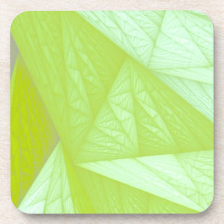 silk green drink coasters