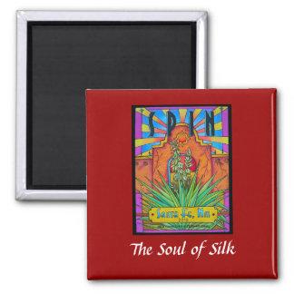 Silk in Santa Fe Magnet