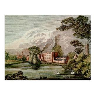 Silk Mill Derby de sir Thomas Lombe Postal