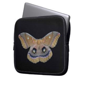 Silk Moth Laptop Travel Sleeve Laptop Computer Sleeve