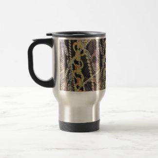 Silk, Pearls and Chains Print Travel Mug