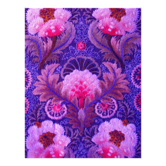 Silk Purple Boho Letterhead