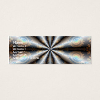 "Silk Quartet Skinny, 3"" x 1"", 20 pack Mini Business Card"