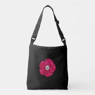 Silk Rhinstone Crossbody Bag