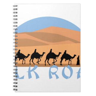 Silk Road Spiral Notebook