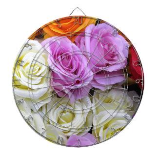 silk roses dartboard