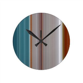 SILK Satin Sparkle Smooth Crystal Stone NVN697 FUN Round Clocks