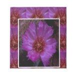 SILK Sparkle Flower Print : Goodluck Blessings Lov Memo Notepads