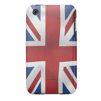 Silk style Union Jack British Flag iPhone 3 Case-Mate Cases