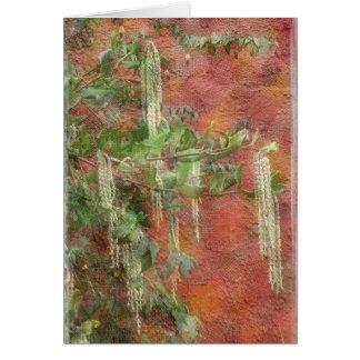 Silk Tassel Tree - Card