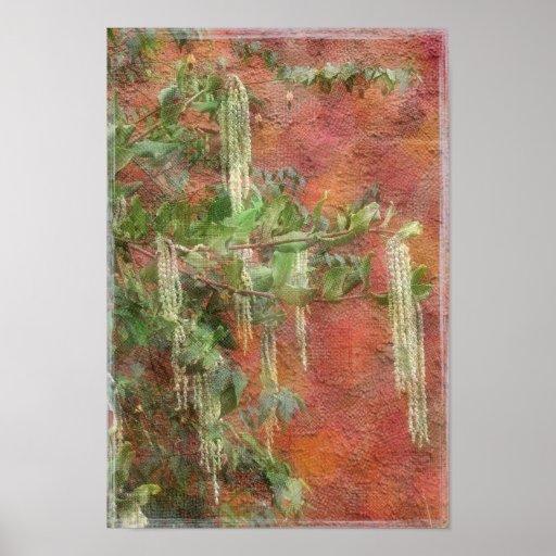 Silk Tassel Tree - Print